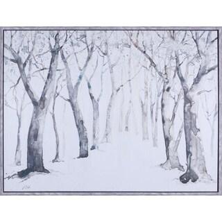 'Tree Water Color II' 33 x 43-inch Artwork