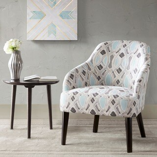 Madison Park Elias Mocha/ Morocco Accent Chair