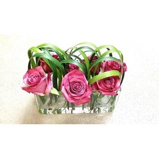 Gold Eagle Rose Floral Arrangement