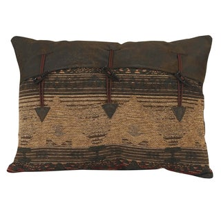 HiEnd Accents Multicolor 16-inch x 21-inch Throw Pillow with Decorative Buttons