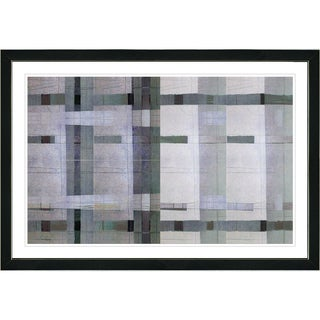 Studio Works Modern Framed Contemporary Fine Art Abstract Painting 'Afunda Series' Wall Art Giclee Print by Zhee Singer