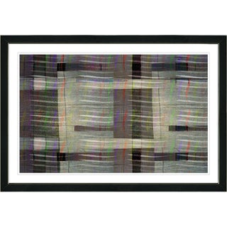 Studio Works Modern Framed Fine Art Contemporary Abstract Painting 'Afunda Waves' Wall Art Giclee Print by Zhee Singer