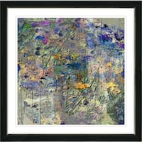 Studio Works Modern Zhee Singer 'Shimi Shimi Coco-Bop' Contemporary Abstract Painting Framed Giclee Wall Art Print