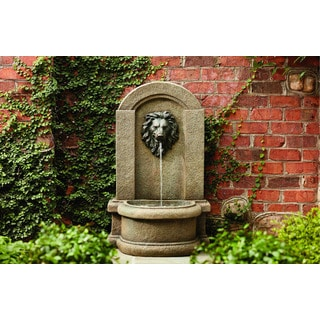 Classic Lionhead Floor Fountain
