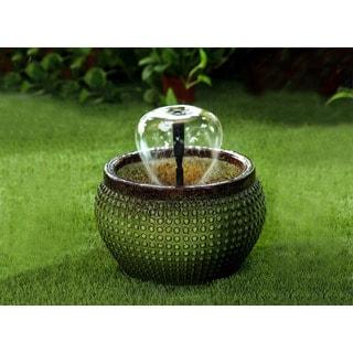 Green Bowl Water Fountain