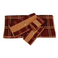 Hiend Accents Embroidered Deer 3-Piece Towel Set
