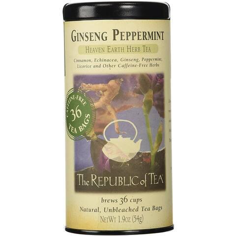 Ginseng Peppermint Tea