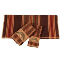 Hiend Accents Embroidered Acorn 3-Piece Towel Set