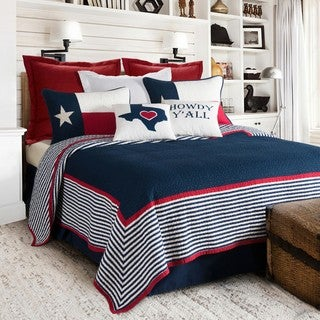 HiEnd Accents Blue/Red Ranger Quilt Set