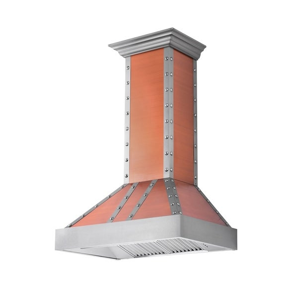 ZLINE 30 in. 900 CFM Designer Series Wall Mount Range Hood (655-CSSSS-30)