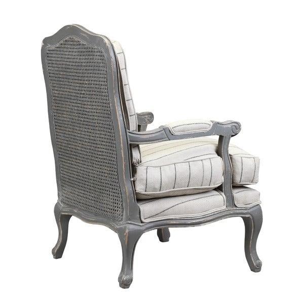 Shop Burnham Home Designs Alma Collection Linen Arm Chair