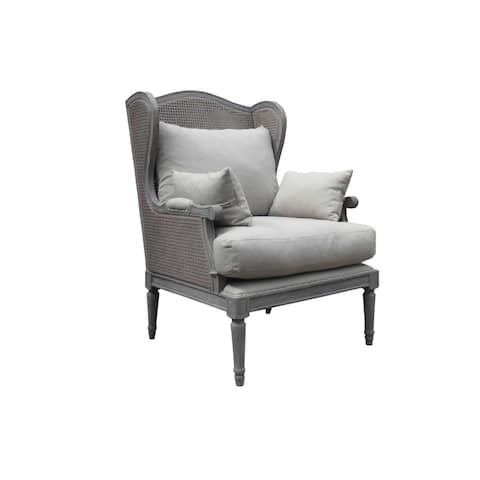 Burnham Home Designs Christopher Grey Salon Chair