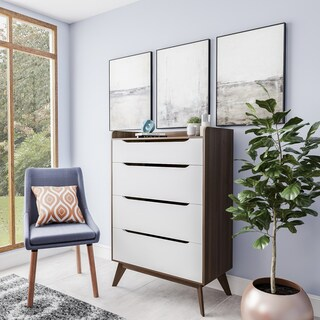 Mid-Century White and Walnut 4-Drawer Chest by Baxton Studio|https://ak1.ostkcdn.com/images/products/15926157/P22328070.jpg?_ostk_perf_=percv&impolicy=medium