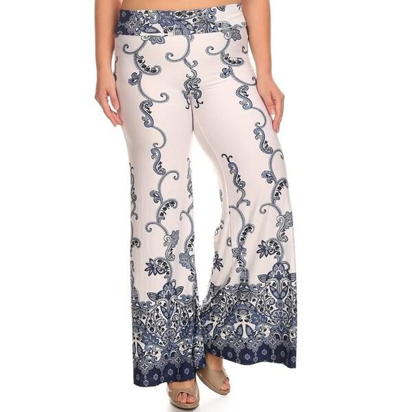 b41d2345172 Shop Women s Plus Size Denim Palazzo Pants - On Sale - Free Shipping ...