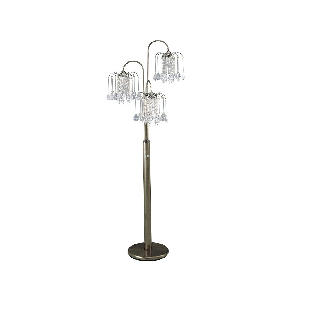 Q Max Bronze Chandelier Style Floor Lamp