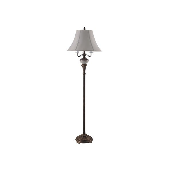 Q-Max Bronze Metal 65-inch Floor Lamp