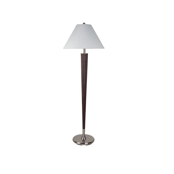 Q-Max Beauty Brown Resin 58.5-inch Floor Lamp