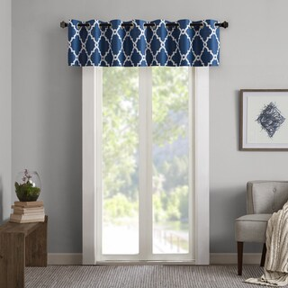 Madison Park Essentials Almaden Printed Valance (5 options available)