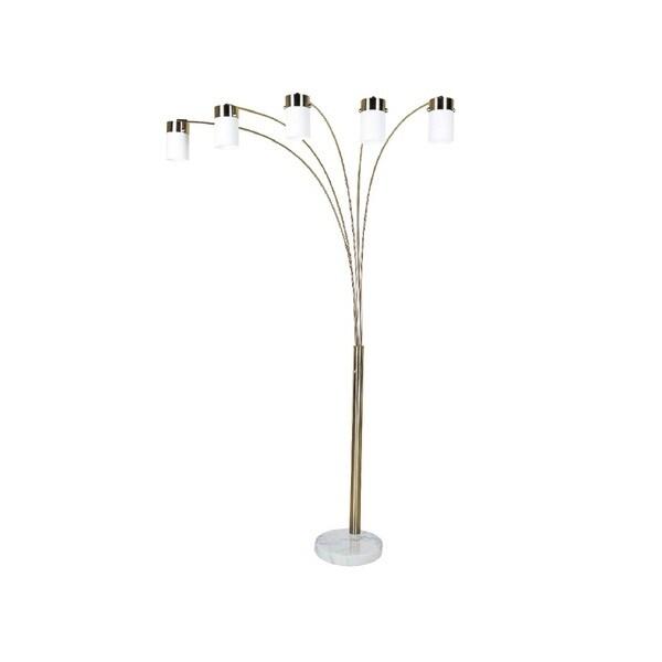 Q-Max 5-arm 84-inch Lantern-style Floor Lamp