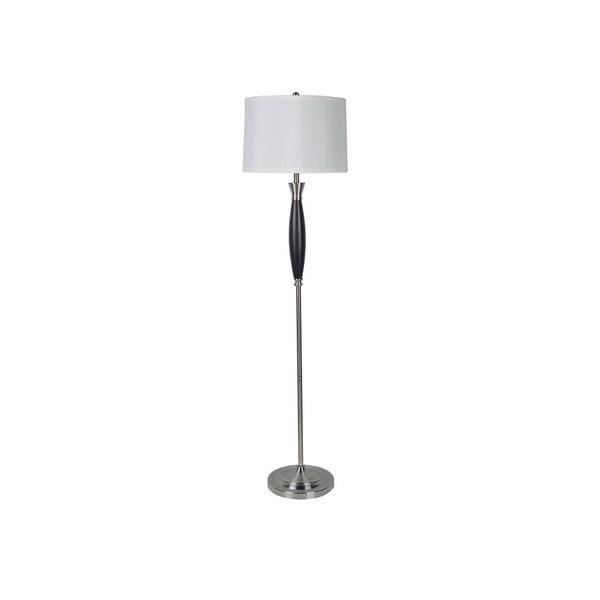 Q-Max Modern Wooden 64-inch Floor Lamp