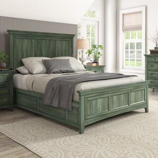 Ediline Wood Panel Platform Bed by iNSPIRE Q Classic