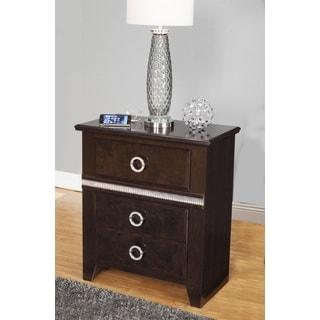Sandberg Furniture Sunset Boulevard Brown 2-drawer Nightstand with USB