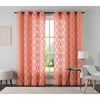 VCNY Home Aria Curtain Panel (More options available)