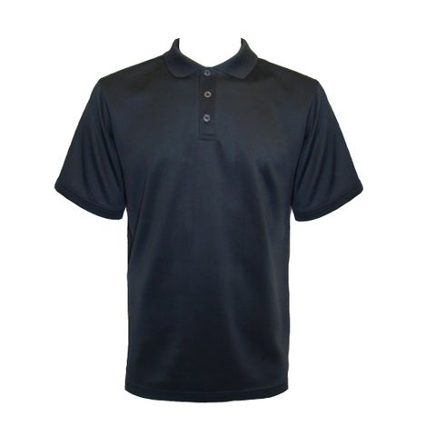 Men's Short Sleeve 3-Button Performance Polo