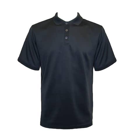 Men's Short Sleeve 3-Button Performance Polo