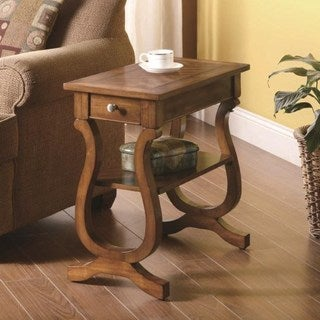 Roseburg Cherry Chairside End Table
