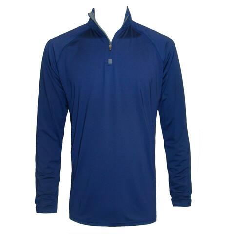 Men's Long Sleeve Lightweight Stretch Pullover 1/4 Zip