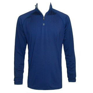 Men's Long Sleeve Lightweight Stretch Pullover 1/4 Zip