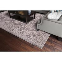 Concord Global Thema Annette Beige Area Rug - 7'10 x 10'6