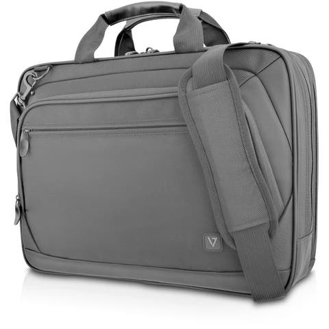 """V7 Cityline CTPD1-1N Carrying Case (Briefcase) for 15.6"""" Notebook - Black"""