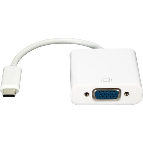 QVS USB-C / Thunderbolt 3 to VGA Video Converter