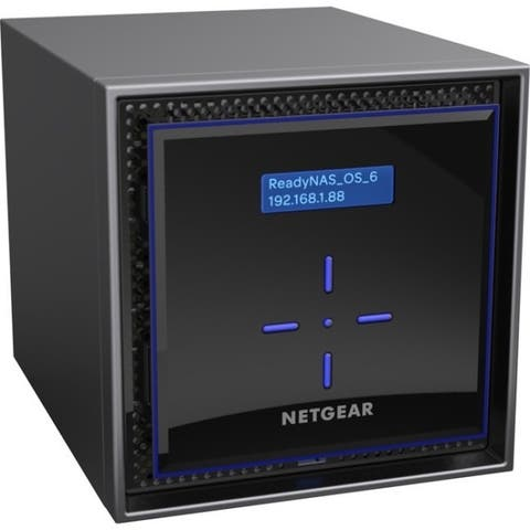 Netgear ReadyNAS 424, Desktop 4-bay, 4x4TB Desktop HDD