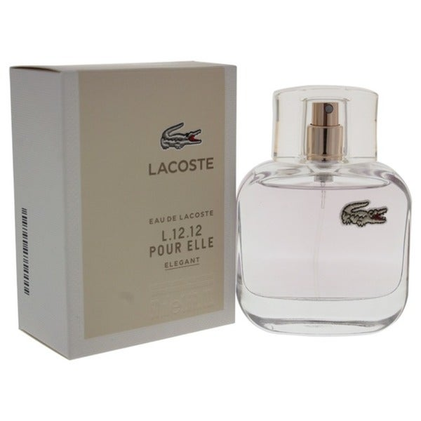 Shop Lacoste Eau de Lacoste L.12.12 Pour Elle Elegant Men s 1.6-ounce Eau de  Toilette Spray - Free Shipping On Orders Over  45 - Overstock - 15942918 81b183a9a388d