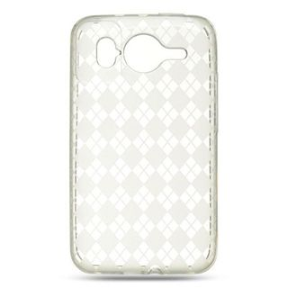 Insten TPU Rubber Candy Skin Case Cover For HTC Inspire 4G