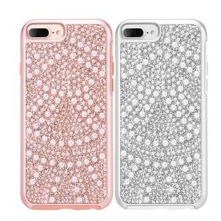 Apple Iphone 7 Plus Diamond Pearl Platinum Collection Hybrid Bumper
