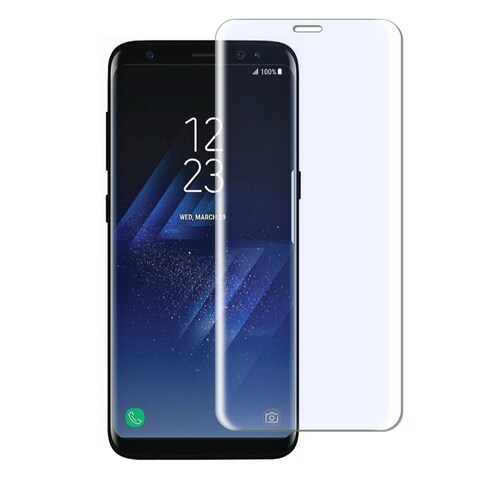Insten Ultra Clear Highly Durable 9H Hardness Tempered Glass Screen Protector for Samsung Galaxy S8