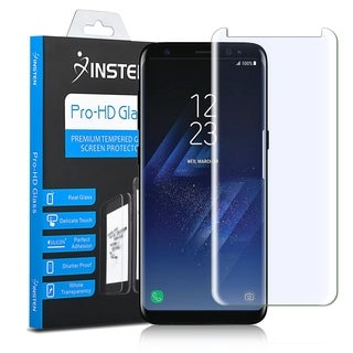 Insten Ultra Clear Highly Durable 9H Hardness Tempered Glass Screen Protector for Samsung Galaxy S8+ S8 Plus