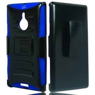 (XL) Nokia 1520/Lumia (AT&T) Hybrid H Stand w/ Holster Blue