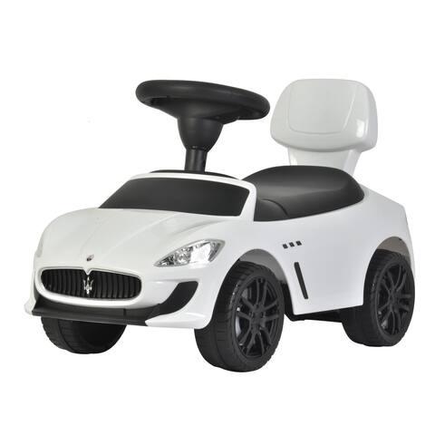 Maserati White Push Car
