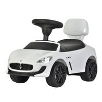 Maserati White Push Car