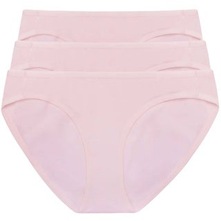 Amore Women's Lauren Light Pink Bikini (Pack of 3)