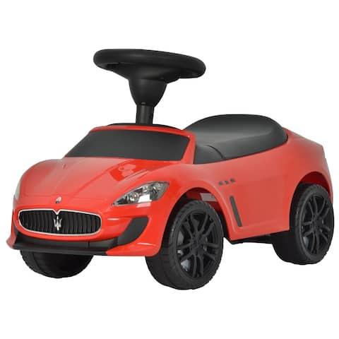 Maserati Red Push Car