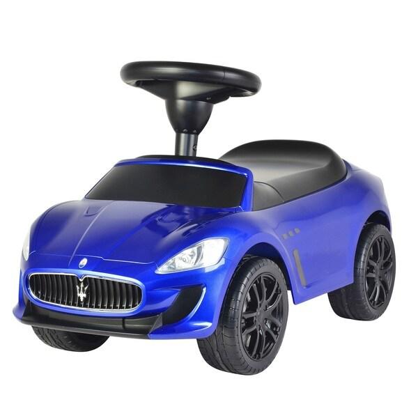 Maserati Blue Push Car