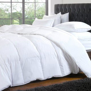 White Down and Microgel Baffle Box Comforter