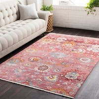 """Vintage Persian Traditional Red Area Rug - 7'10"""" x 10'3"""""""