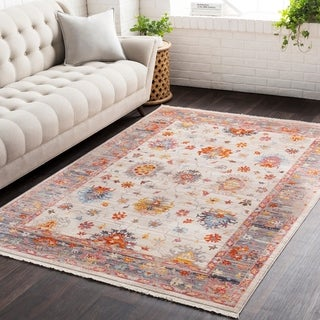 Vintage Persian Traditional Beige Multi (7'10 x 10'3)